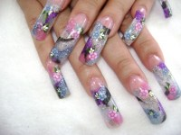 20 Stylish Nail Painting Designs Pictures