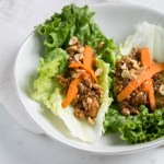 photo of asian lettuce wraps
