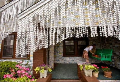 Terrific House Made From Newspaper Workshop Made From Beer Cans Interior Design Ideas Philsoteloinfo