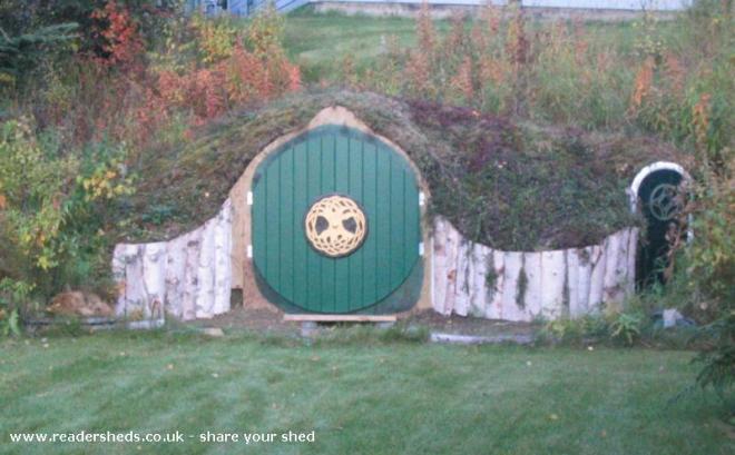 Hobbit Hole Shed