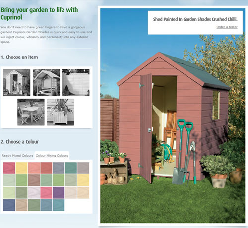 Shed week sponsors Cuprinol have really got a shed load of new colours to paint yours