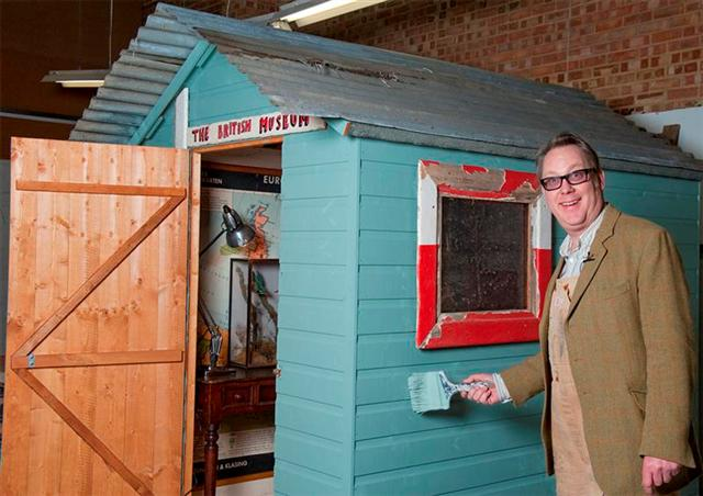 Own some shed history: Shed of the year 2012 Celebrity Sheds go on charity auction
