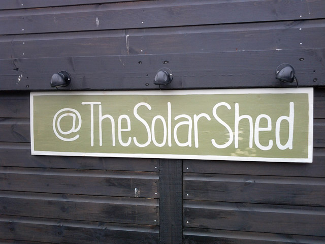 Shed Week Guest post: Powering your shed