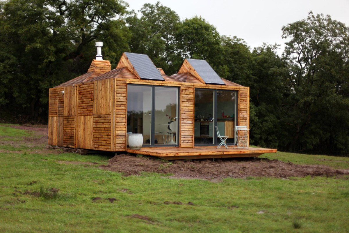 First it was Kevin McCloud with his small shed - now George Clarke shows off his Amazing Spaces