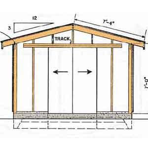Pdf plans diy free shed plans download plans rustic dining for Garden shed plans pdf