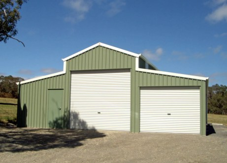 Shed Boss Barn 10.5Lx10Wx2.4H featuring COLORBOND®