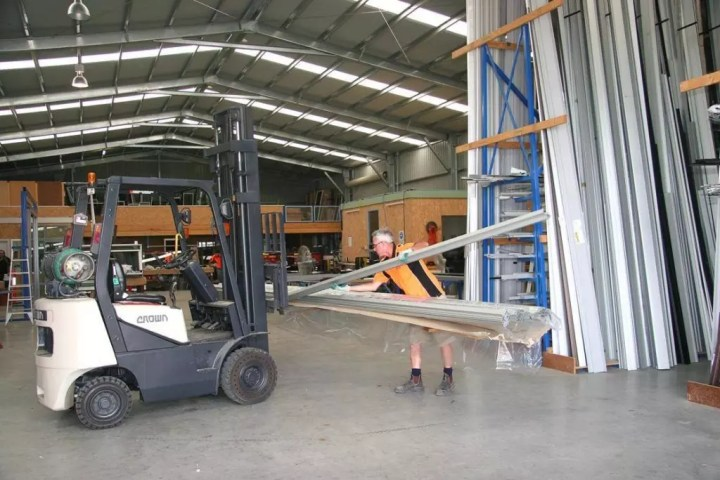 Storage in large, commercial sheds can be difficult without planning to use the spaceefficiently in the early stages of the customised design process.