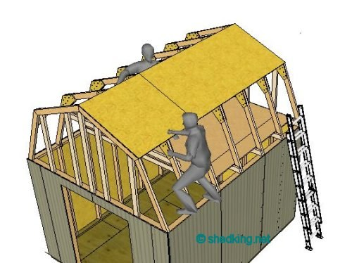 Easiest Shed Build