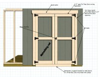 Do it yourself outdoor wood bench, how to build shed doors