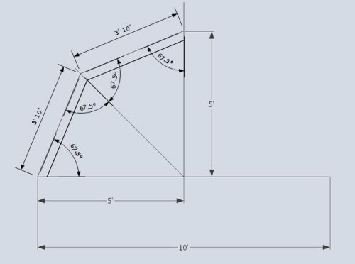 truss style diagram msd 6al wiring ford mustang shed roof gambrel how to build a 2x4 measurements defined
