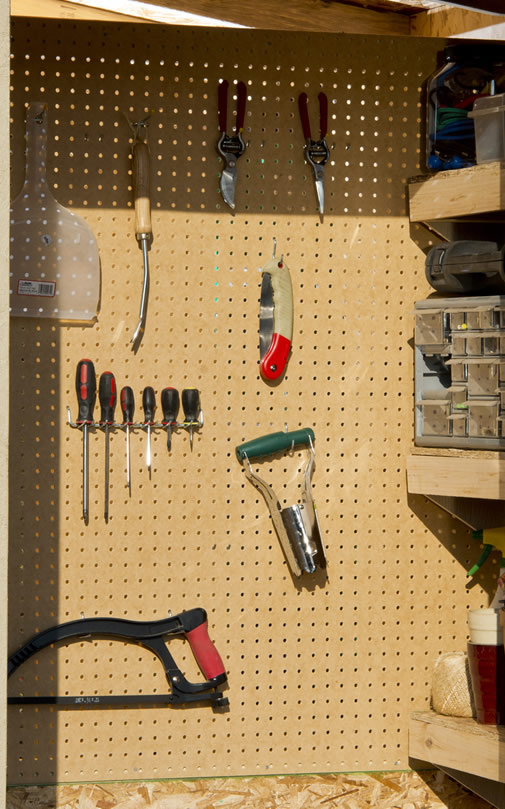 Organize Your Shed with Pegboards  Shed Liquidators