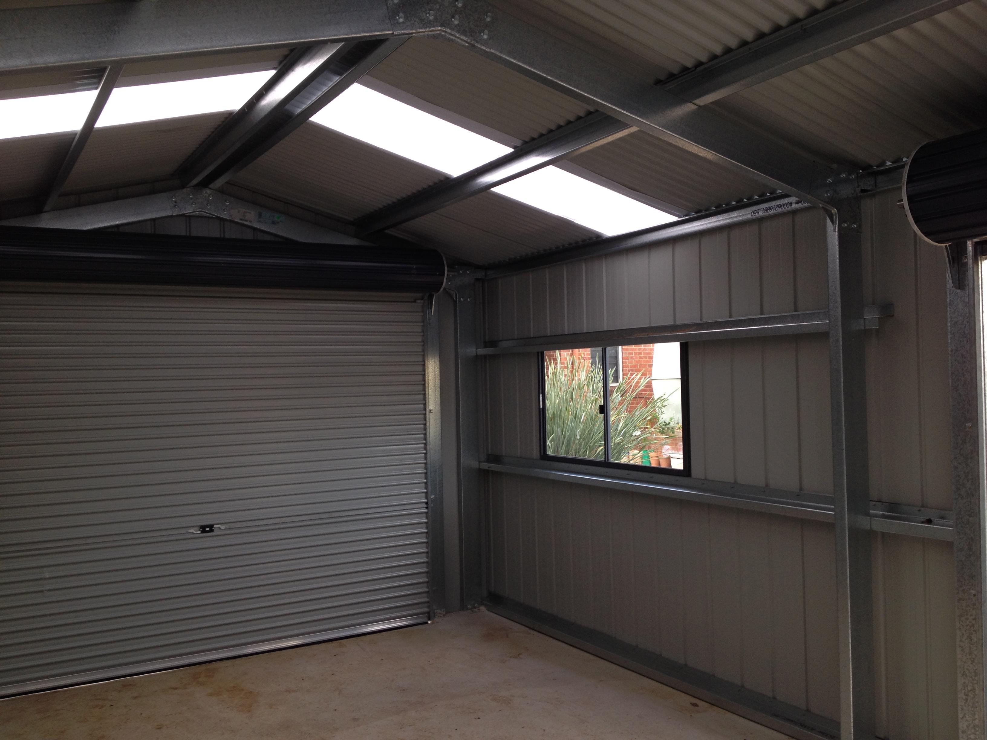 Single Car Garage  Melrose Park  Shed Master Sheds Adelaide
