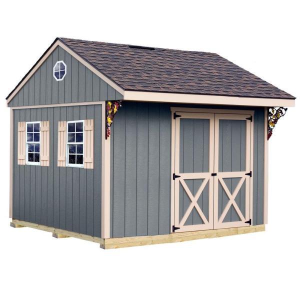 Barns Northwood 10x10 Wood Shed Free Shipping