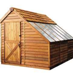cedarshed sunhouse 8x12 shed sh812  [ 900 x 900 Pixel ]