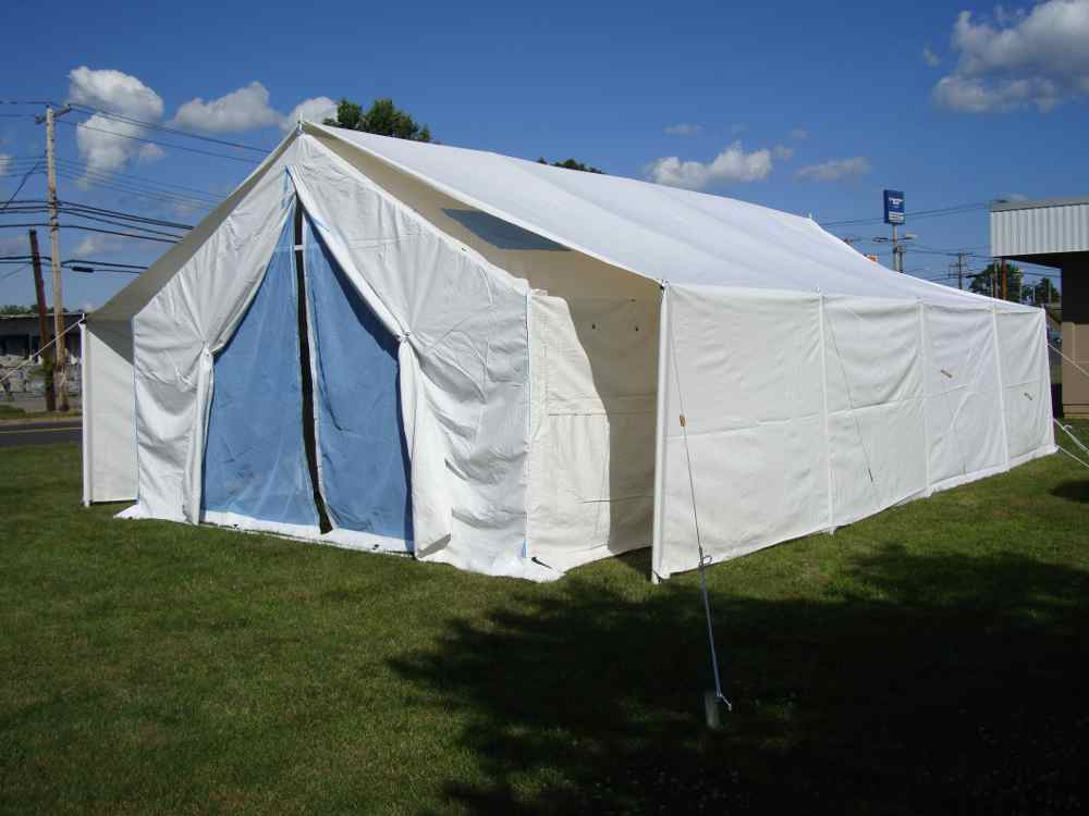 Rhino Shelter 18X32 UN Disaster Relief Tent House Style