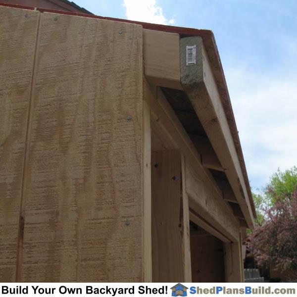 Roof Overhang Corbels & Prev