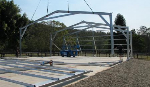 Are Steel Shed Kits From Wide Span Sheds Easy To Erect