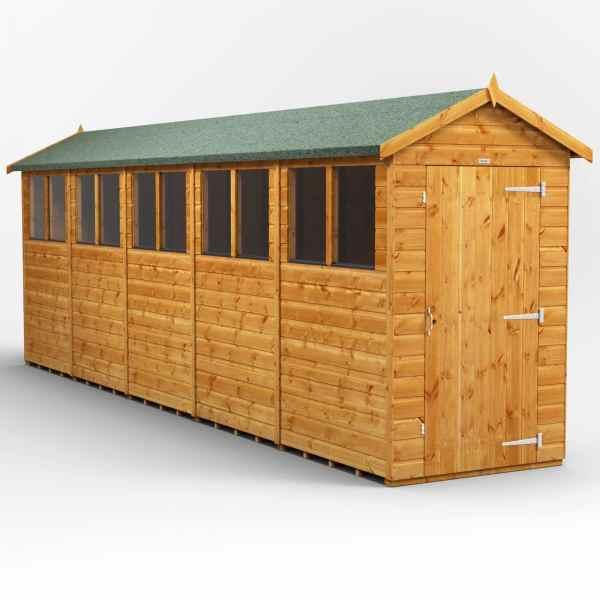 apex garden shed series 2046windows