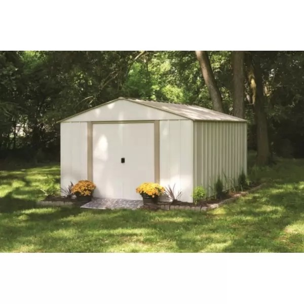Arrow 10x14 Oakbrook Steel Storage Shed Kit Ob1014