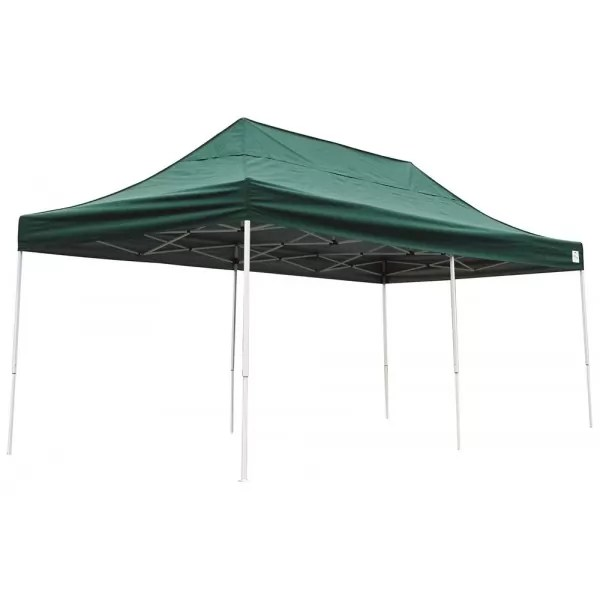 Shelter Logic 10x20 Pop- Canopy - Green 22582