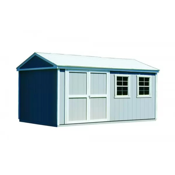 Handy Home Somerset 10x14 Wood Storage Shed With Floor 18415-4
