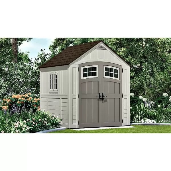 Suncast 2-pack 7x7 Cascade Storage Shed With Floor Bms7790