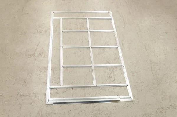 base frame to goldilocks shed