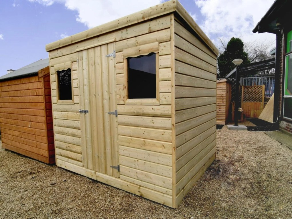 Timore Style Wooden Cabin Shed