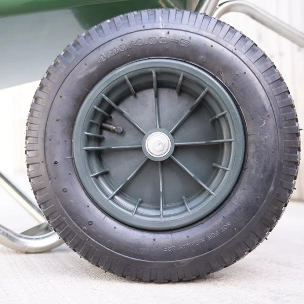 Equestrian Barrow Wheel Details