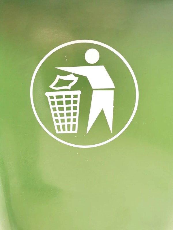 The green bin logo
