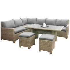 Berlin Corner Sofa With Table 2 Stools Set Tufted Leather Ontario 8 Seater 7 Piece Wentworth Deluxe Modular