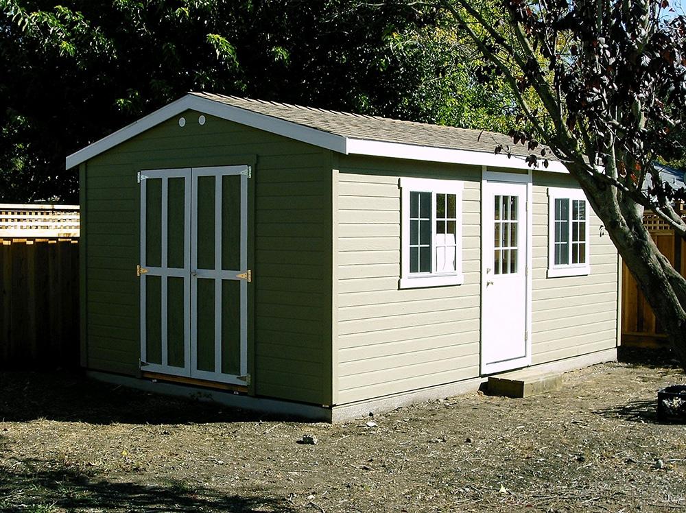 The Shed Shop  Detached Garage  Large Workshop