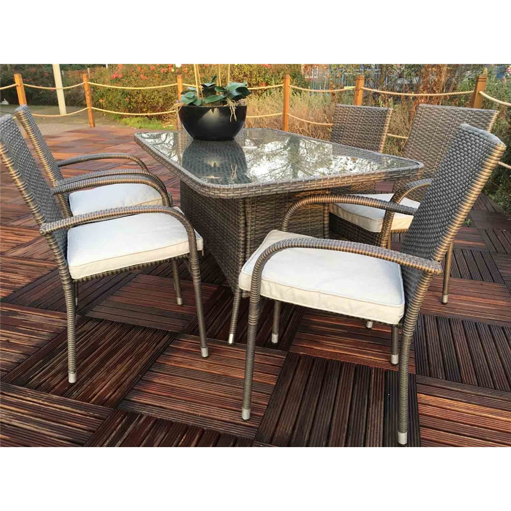 grey weave garden chairs wedding chair covers yes or no shedswarehouse furniture marlow flat