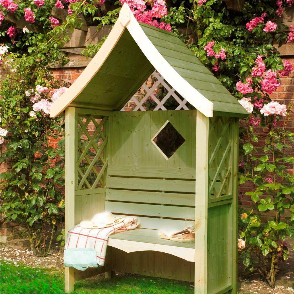 ShedsWarehousecom  Stowe Arbours  4ft 1 x 2ft 1 Stowe