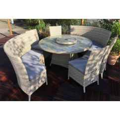 8 Seater Round Dining Table And Chairs Wheelchair Near Me Shedswarehouse Garden Furniture Wentworth Rattan