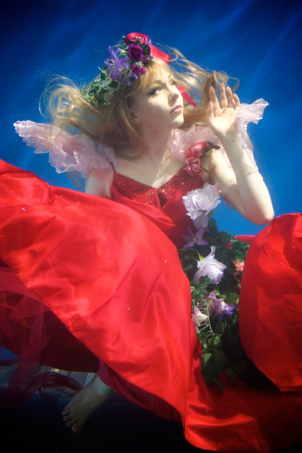 Underwater Modeling Photography