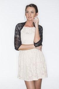 Sheeebz - Evening shawls & Wraps - Black lace shawl