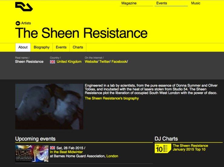 Sheen-Resistance-disco-London-Resident-Advisor