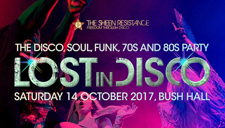 Lost In Disco Bush Hall London 70s disco 80s disco