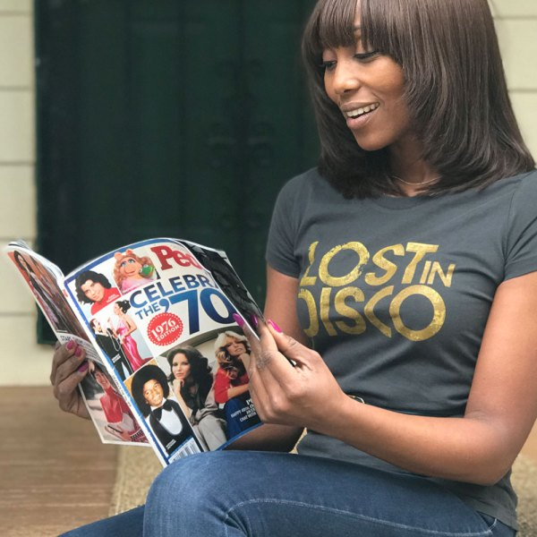 Folami Chic Nile Rodgers Lost In Disco vintage t-shirt