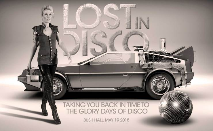 sarah main lost in disco delorean