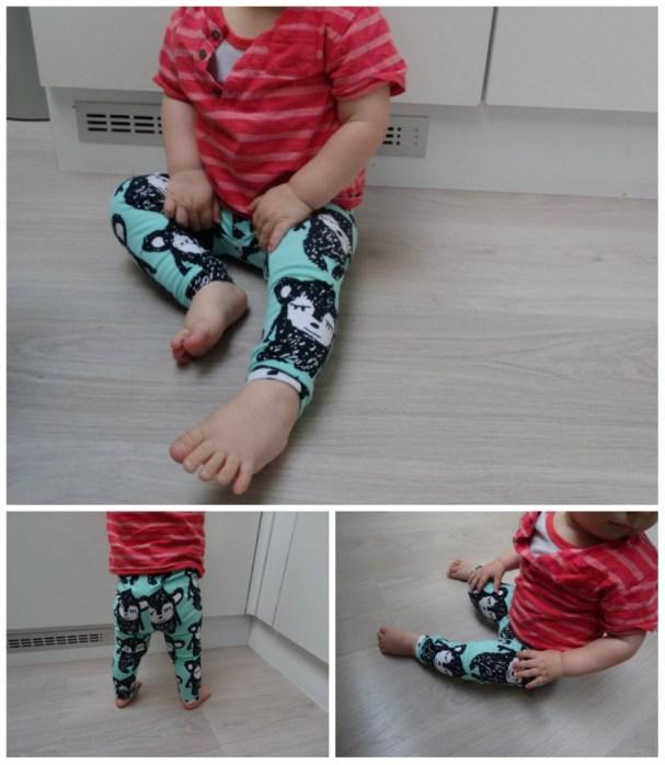Stof: Kiwi Fabrics, Patroon: Emma&Mona