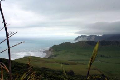 Blick vom East Cape Lighthouse