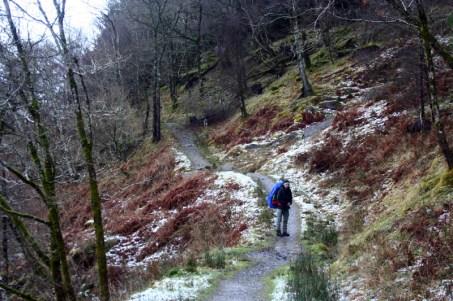 Der Track am Loch Lomond
