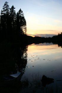 Abendstimmung am Svartälven