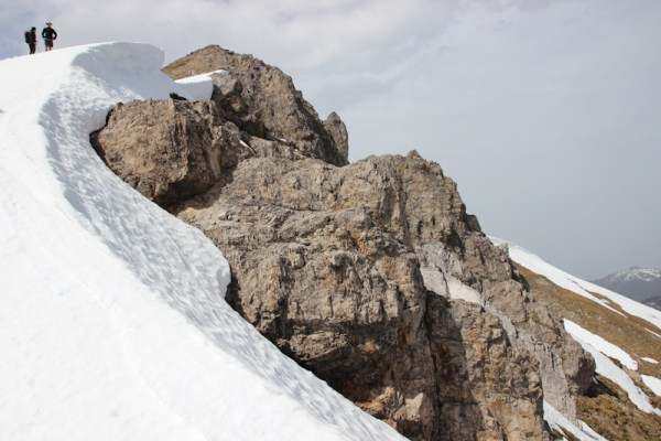 Abstieg vom Grasbergjoch