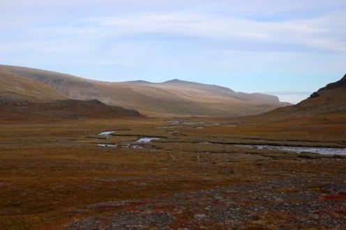 Flusslandschaft rum um Kebnekaise