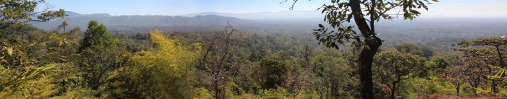 Blick über den Virachey Nationalpark