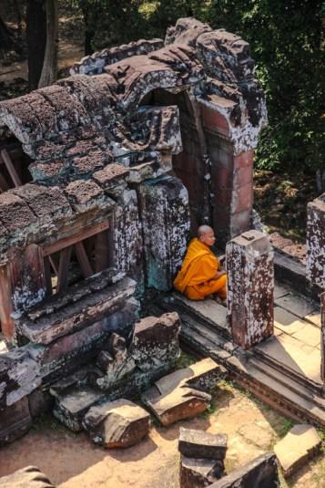 Mönch im Phimenakas