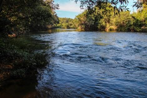 Unser Lager am Fluss
